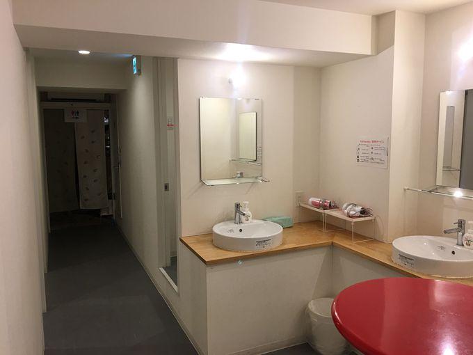 シャワールームなども清潔感が感じられ女性にも嬉しい!