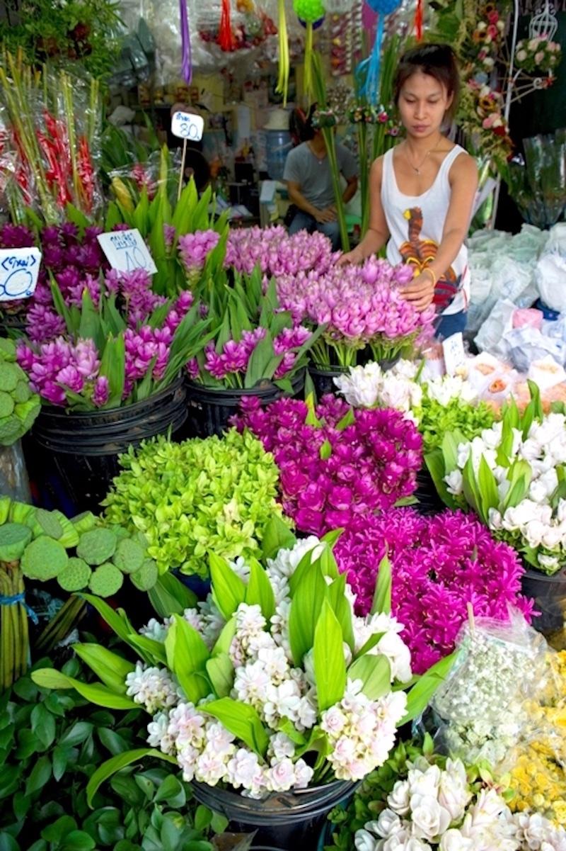 お花好きな女子必見!パーククローン花市場