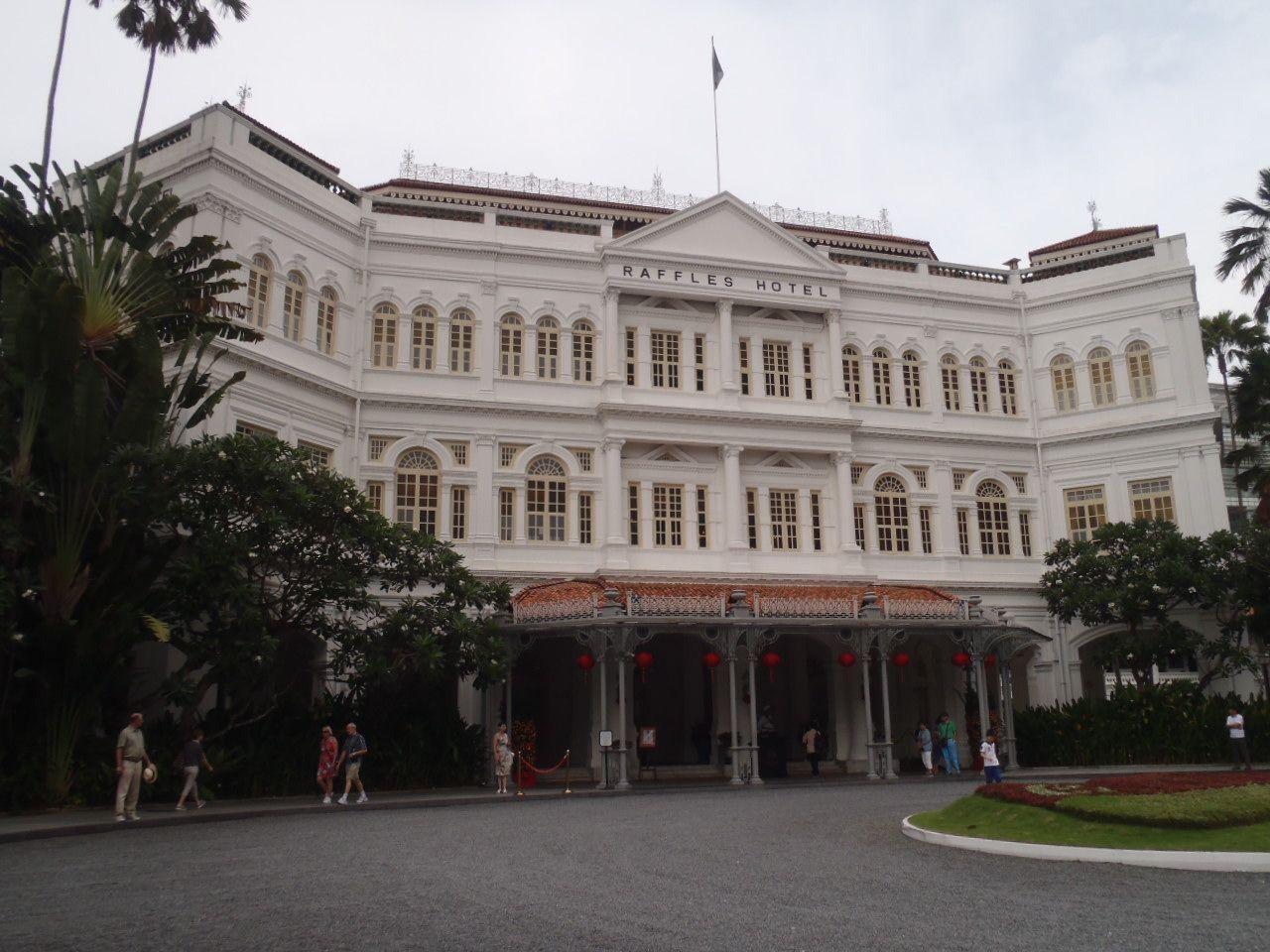 3日目:ラッフルズホテル&シンガポール動物園・ナイトサファリ