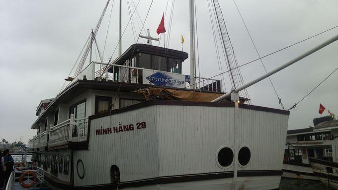 2日目午前〜ランチ:ハロン湾クルーズのお泊り船上ゴージャスライフ