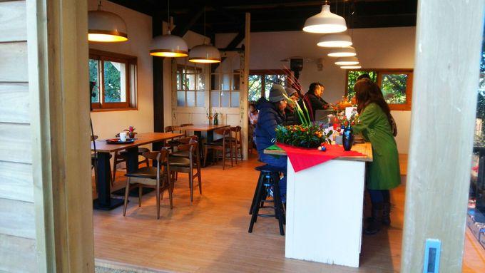 二つの展望台を満喫したら朝のカフェタイムを!