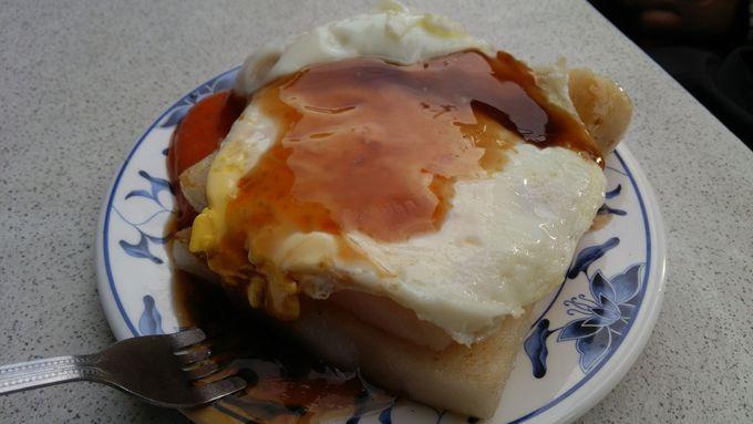 朝食の腹ごしらえは第二市場で