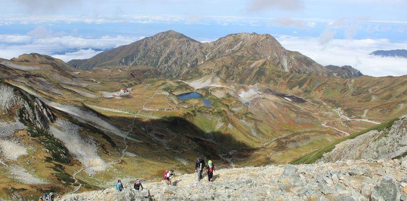 立山・室堂周辺のおすすめ散策コース5選!ミクリガ池・剱岳も
