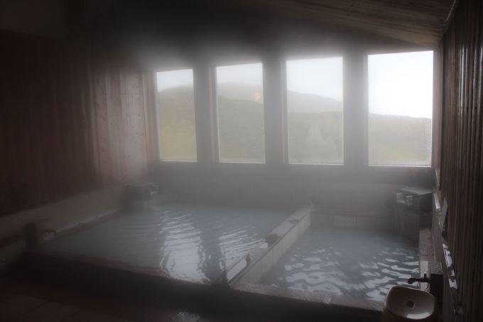 1.日本一高所の温泉「ミクリガ池温泉」に入浴&ランチ