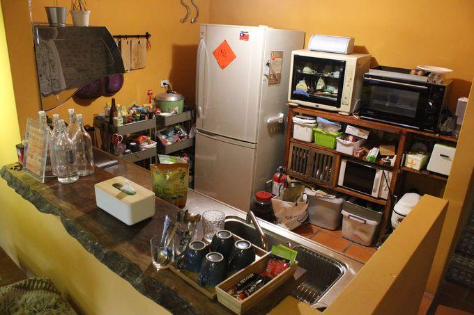 アットホームなロビー&キッチン!