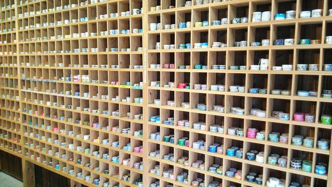 これ全部マスキングテープ!?壁一面から感じられる可愛いの連続