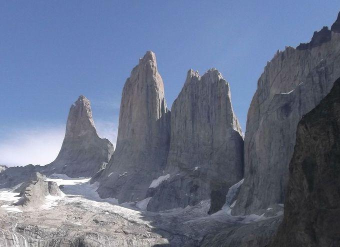 絶景!トーレスデルパイネの三つの岩峰