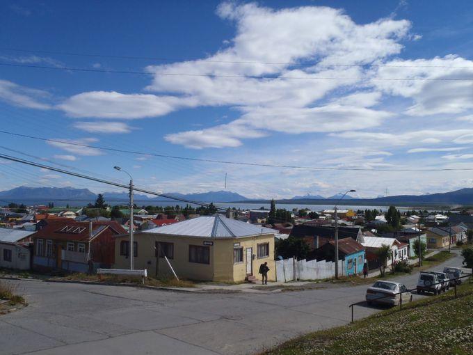 トレッキング拠点の街はプエルト・ナタレス