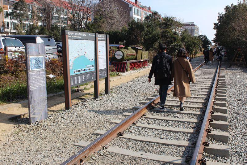 釜山・海雲台の新名所!タルマジキルの廃線跡ハイキングコース
