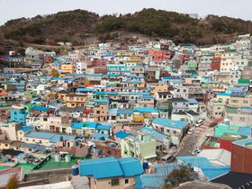 韓国のマチュピチュってどこ?甘川文化村など再開発プロジェクト村3選