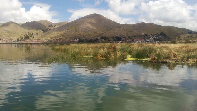 標高3,800m超え!天空の湖「チチカカ湖」!