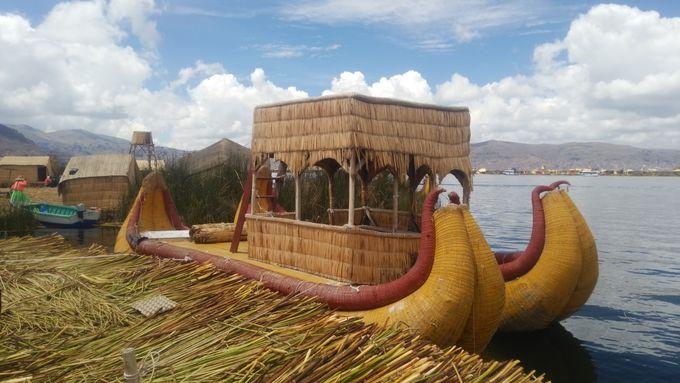 トトラ製の船「バルサ」は乗り心地最高!