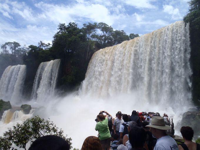 1.イグアスの滝(アルゼンチン側)/ミシオネス州