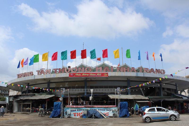 ニャチャンの生活感溢れる円形市場「ダム市場」散策が楽しい!