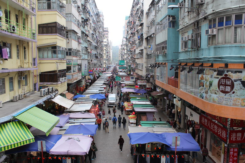 香港で絶対に見逃せない!モンスター級の雑居ビル群5選