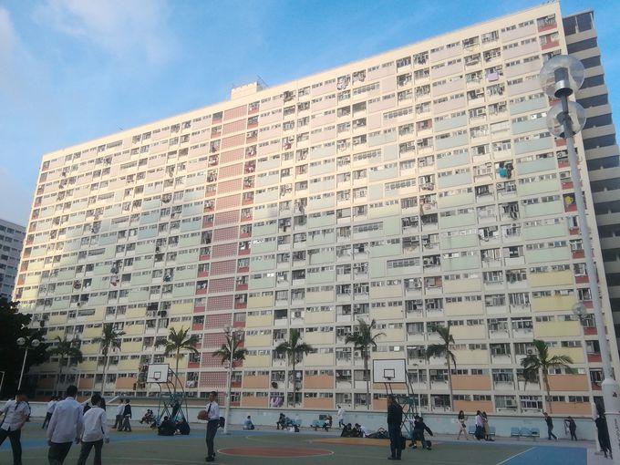 4.郊外の集合住宅も凄い!「彩虹屯丹鳳楼」