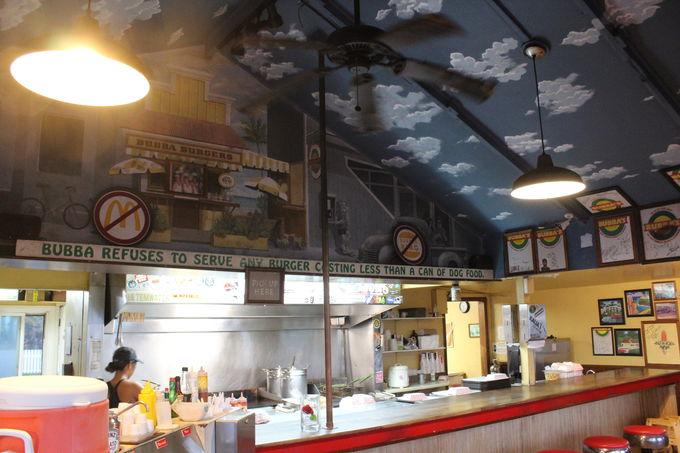 3.チーズバーガーが絶品「Bubba Burgers Kapa'a」