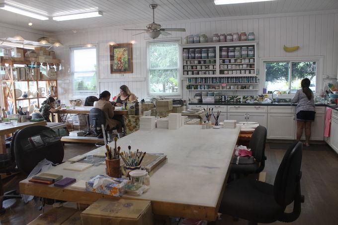 アートなワークショップも盛ん!「Banana Patch Studio」