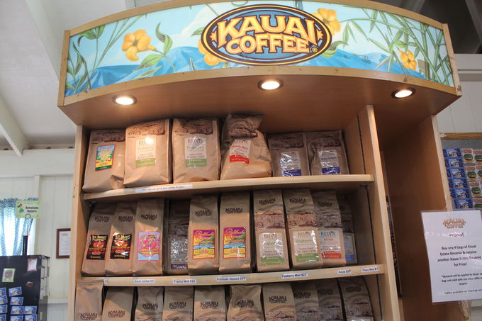 コーヒー関連商品豊富な直営店