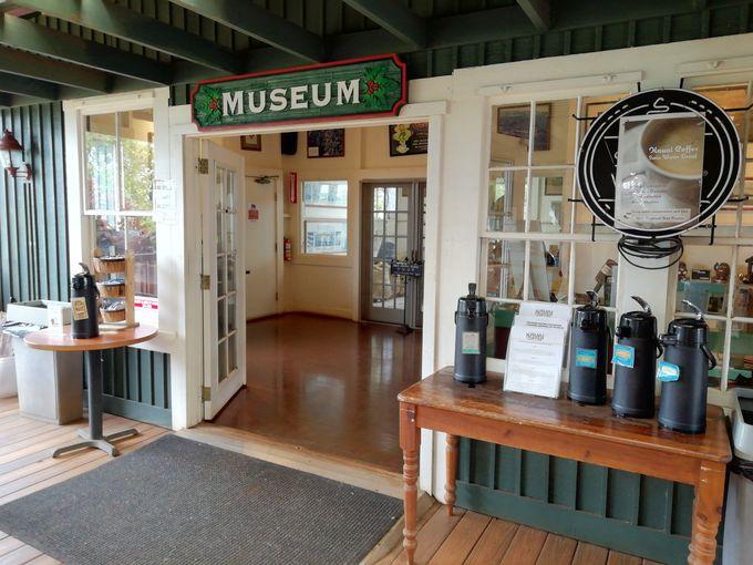 博物館では懐かしの道具類や看板展示も!