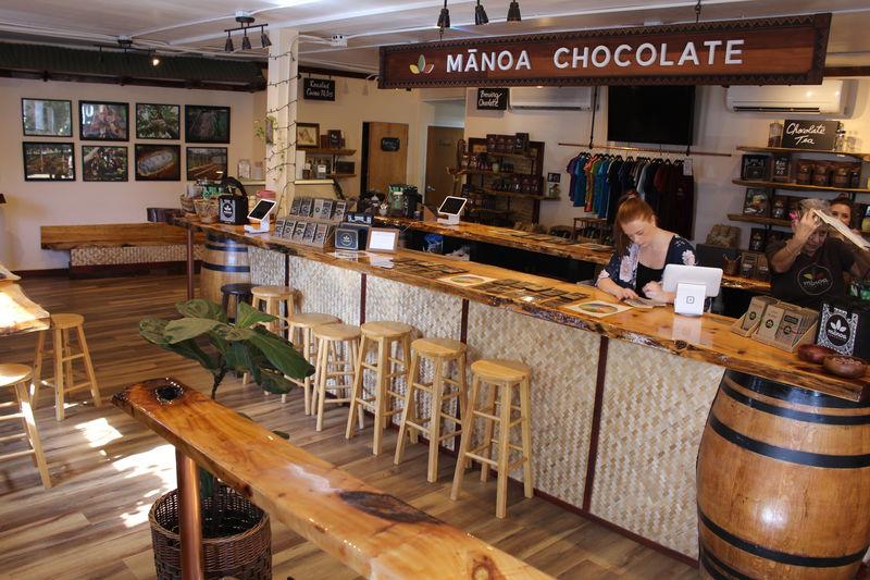 カイルア「マノアチョコレート」ハワイの元祖オーガニックチョコ
