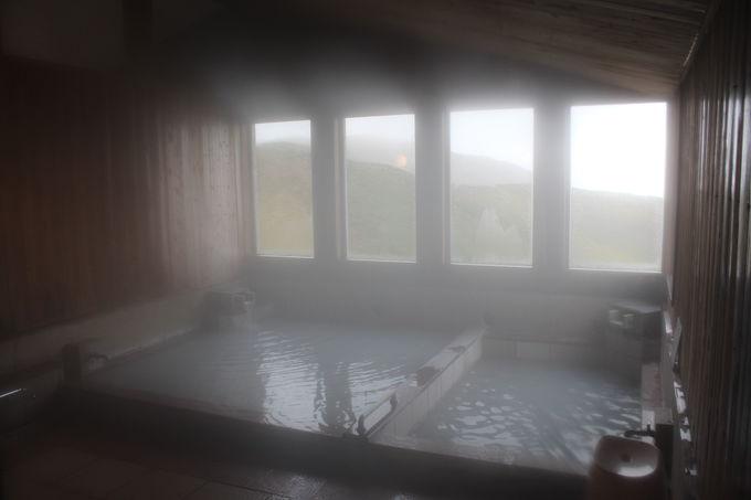 日本一標高の高い天然温泉で極楽!極楽!