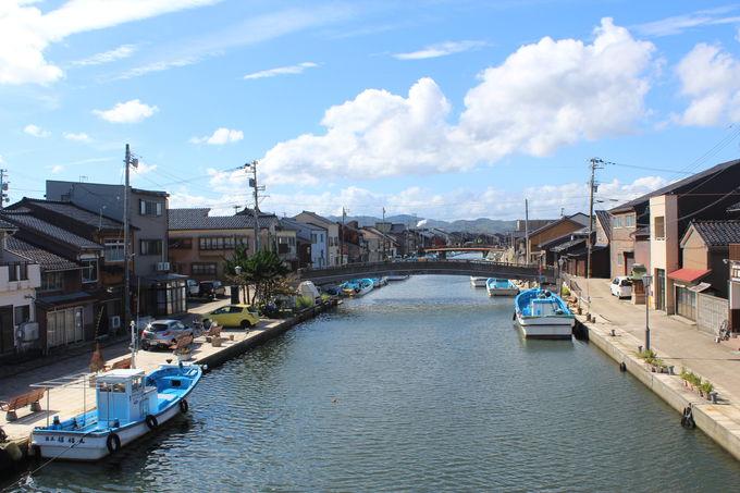 日本のベニス!内川散策の拠点は「川の駅新湊」