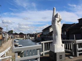 日本のベニス!富山県射水市「新湊内川」の港町に架かる橋巡り