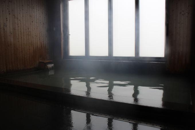山中の温泉入浴は特別に嬉しい