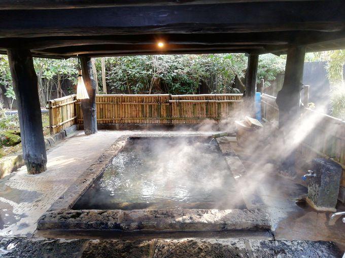 熊本・内牧温泉「親和苑」では露天風呂付離れ「杜の隠れ家」がお勧め