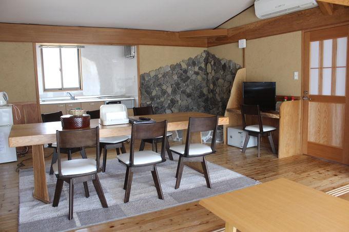 ゴージャスなコテージタイプの宿泊施設も併設