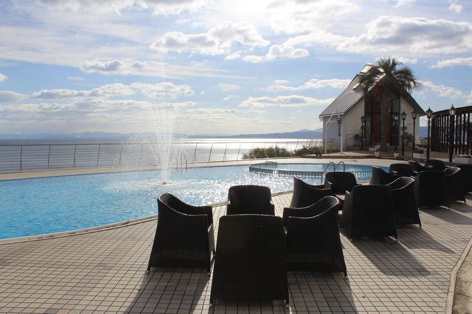 別府湾を見渡す好立地のリゾートホテル