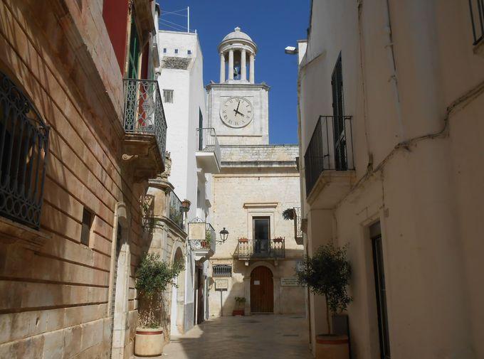 イタリアの美しい村百選に選ばれた旧市街