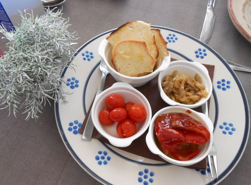 南イタリア・アルベロベッロの野菜畑レストラン「Terra Madre」