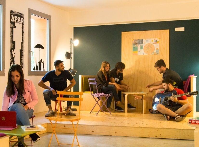 学生寮と融合したユニークな宿!伊ボローニャ「We_Bologna」