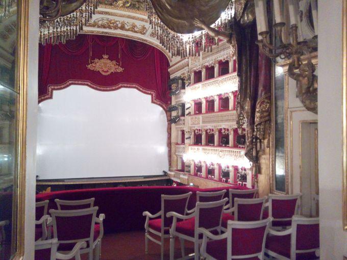 ナポリの宝「サン・カルロ劇場」