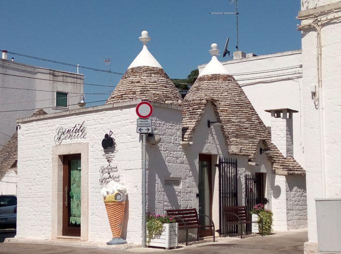 とんがり屋根の人気店「gentile」