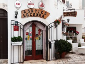 ミシュラン掲載の美食店!アルベロベッロ近郊「アンティカ・ロカンダ」