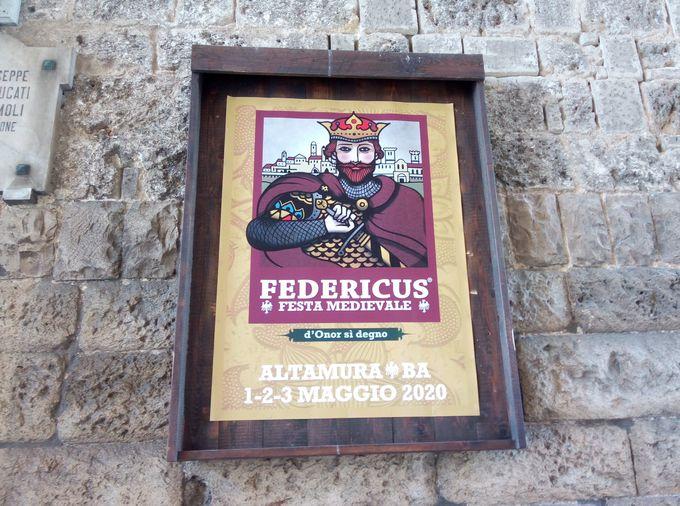 フェデリーコ2世にゆかりのある街