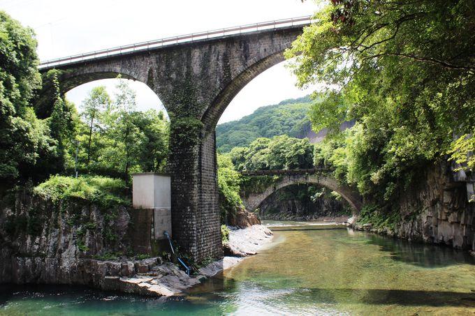 日本一&二位の石橋!大分「轟橋...