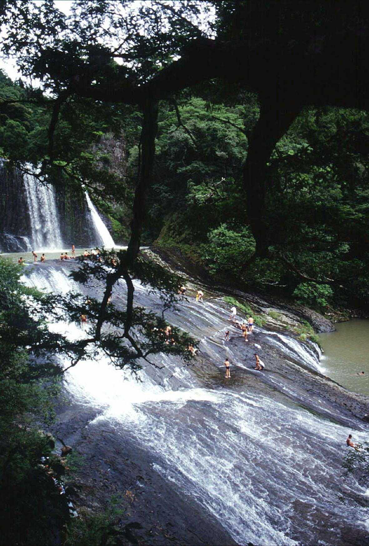 眺め良し!滑って尚良し!の龍門の滝