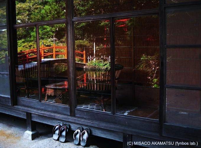 館内や庭園にも、かつての想いや息吹が吹き込まれたデザイン