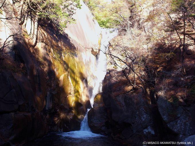 奇跡の『石門』とライトアップされる『仙我滝』は必見!
