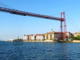 世界でも珍しい動く吊り橋!世界遺産スペイン「ビスカヤ橋」