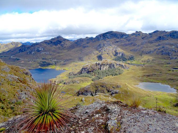 特異な景観をもつ国立公園