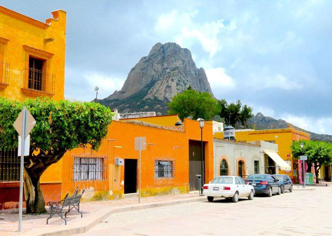 世界で3番目の大きさの岩山