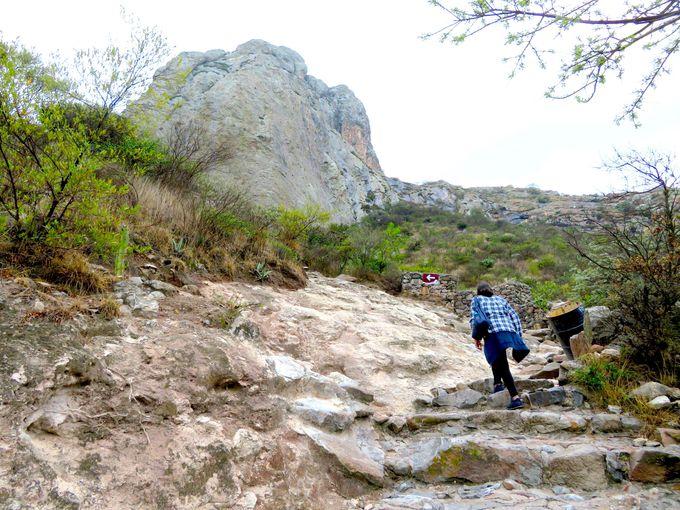 いざ岩山登山