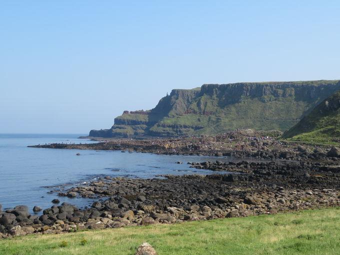 奇岩の海岸