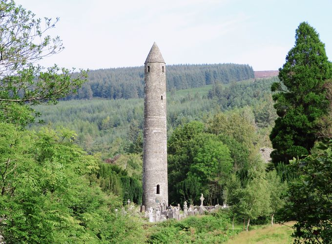 アイルランドに残る最古の教会