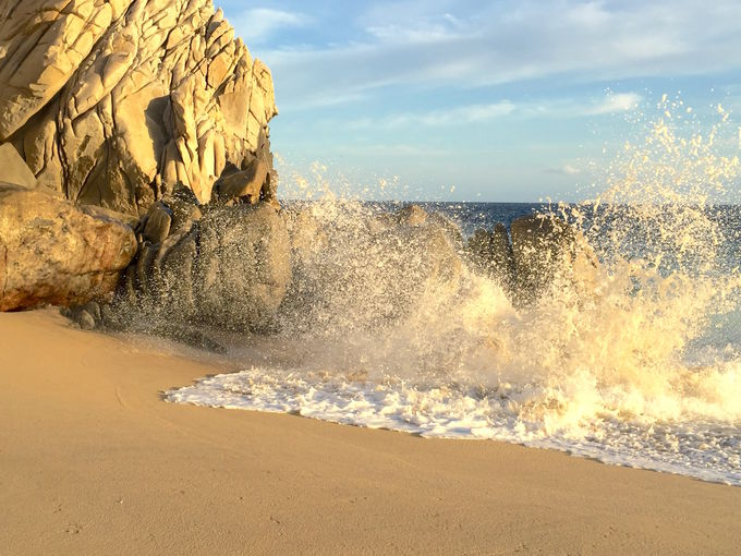 恋愛になぞらえたビーチ